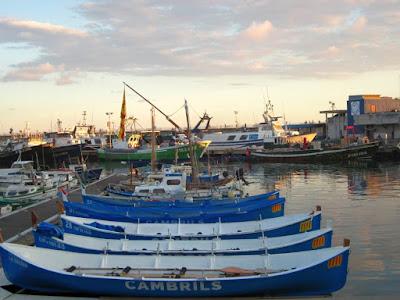 Barcas en el puerto de Cambrils