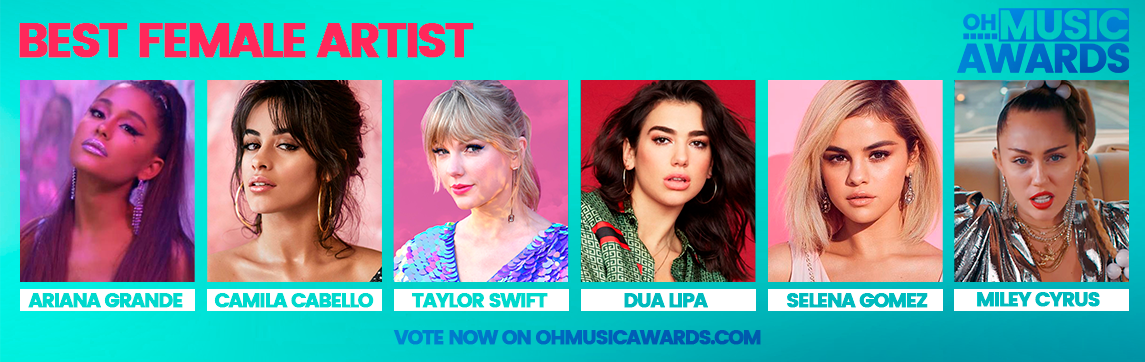 Oh Music Awards - VOTE - Top Music Universe Awards 2019