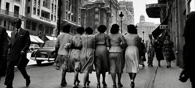 Madryd w latach '50