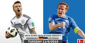 مباشر مشاهدة مباراة المانيا واستونيا بث مباشر 11-6-2019 اليوم تصفيات يورو 2020 يوتيوب بدون تقطيع