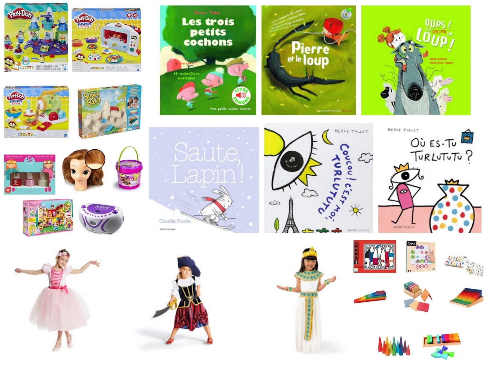 Maaademoiselle A.: || Idées cadeaux pour une petite fille de 6 ans