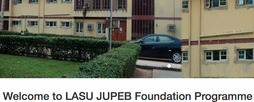 LASU JUPEB Admission Form 2018