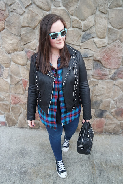 Sequins and Skulls: AE Flannels Forever