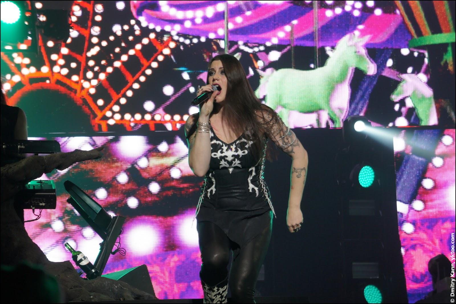 Nightwish: Floor Jansen.