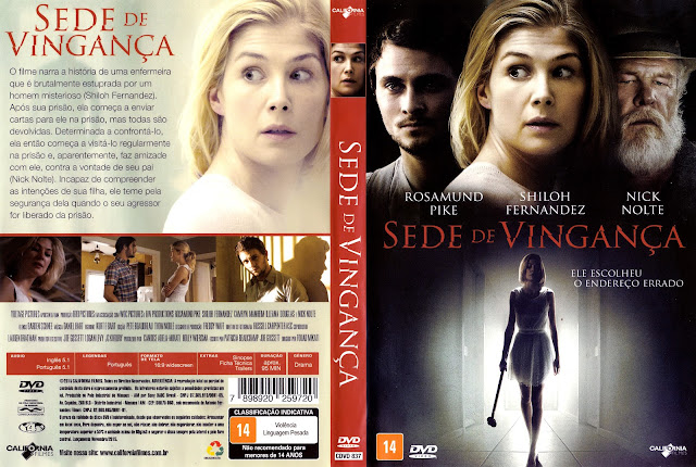 Capa DVD Sede de Vingança (Oficial)