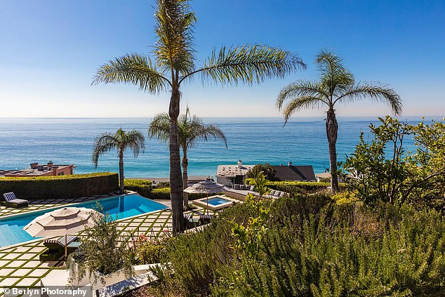 Inside Kylie Jenner's $450k a month six-bedroom mansion in Malibu