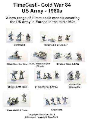 The US Army in Europe (USAREUR) from Timecast