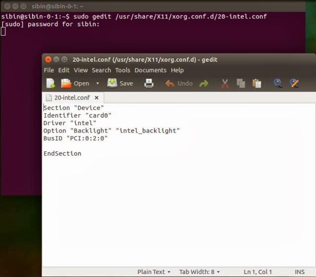 How to controll brightness on Ubuntu 14 04 – 7chip