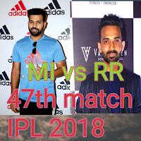 IPL Cricket Live score Mumbai Indians vs Rajasthan Royals