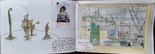 expo Picasso vieille charité marseille