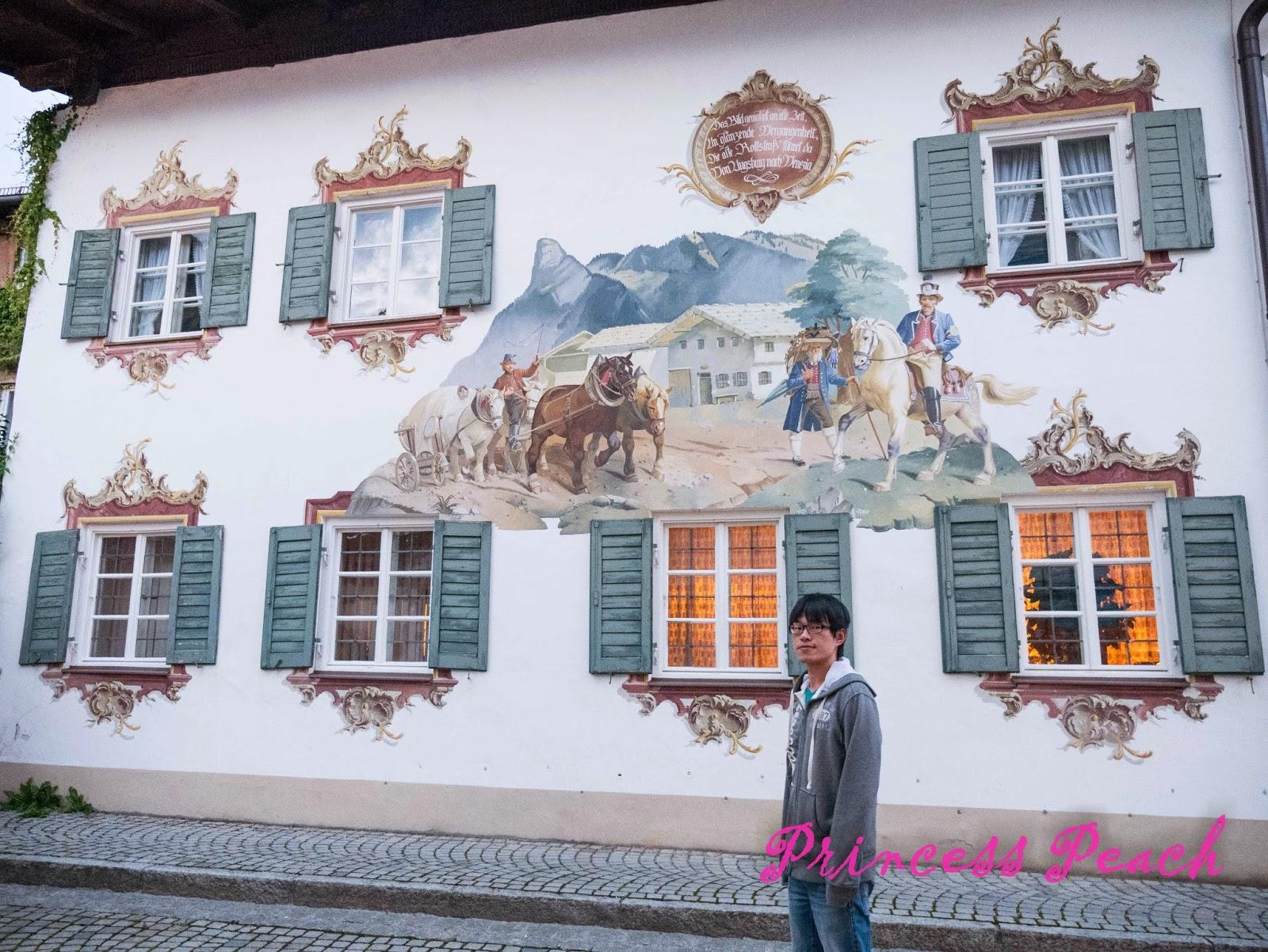 歐博阿瑪高-濕壁畫小鎮