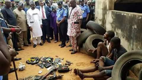Photos: SARS burst criminal gang in Benue State