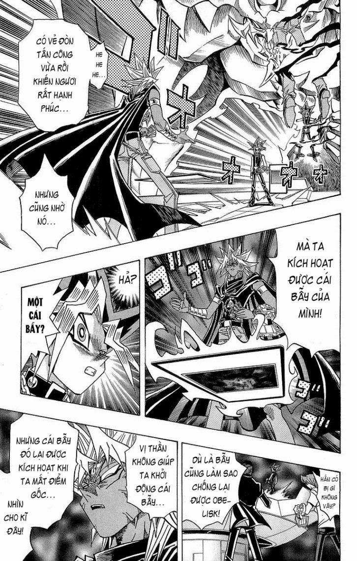 YUGI-OH! chap 271 - lá chắn bất tử trang 12