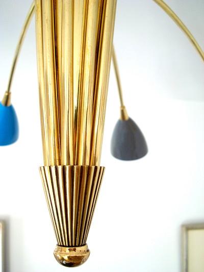 comprar lámpara stilnovo techo 10 brazos españa
