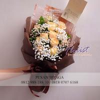 Toko bunga di jakarta utara, hand bouquet bunga, bouquet bunga untuk wisuda