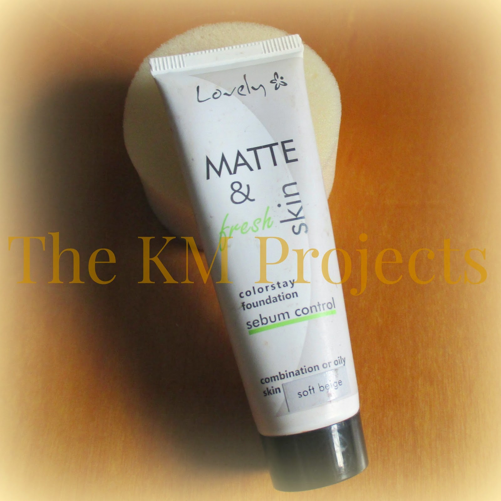 Lovely Matte & fresh skin colorstay foundation