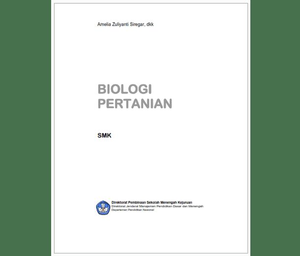 Buku SMK Agroindustri Biologi Pertanian
