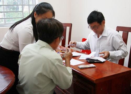 Có nhóm đối tượng gây rối ở vườn rau Tân Bình