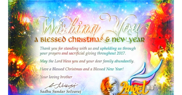 STAR777 DIARY: Christmas Greetings from JESUS Ministries and Angel TV