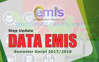 step update emis ganjil 2017-2018