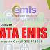 Langkah-Langkah Update EMIS Semester Ganjil 2017-2018