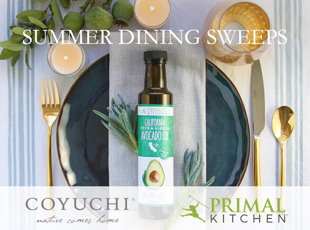 Coyuchi and Primal Kitchen, the perfect pairing of California companies, are offering you the chance to win fresh linens and flavorful ingredients for your table.