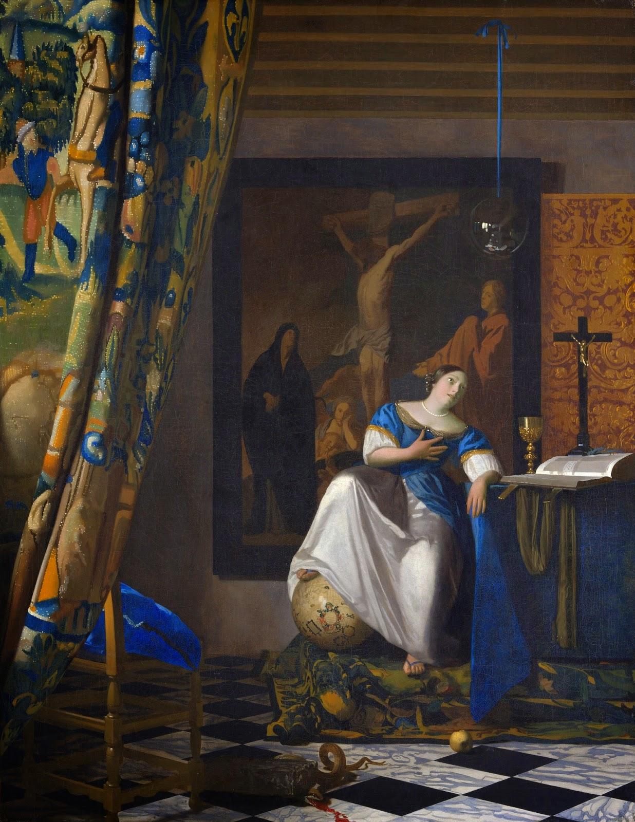 A Alegoria da Fé - Vermeer, Jan e suas principais pinturas