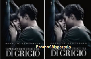 Logo Con Uci Cinemas vinci gratis DVD ''Cinquanta sfumature di grigio'' e non solo