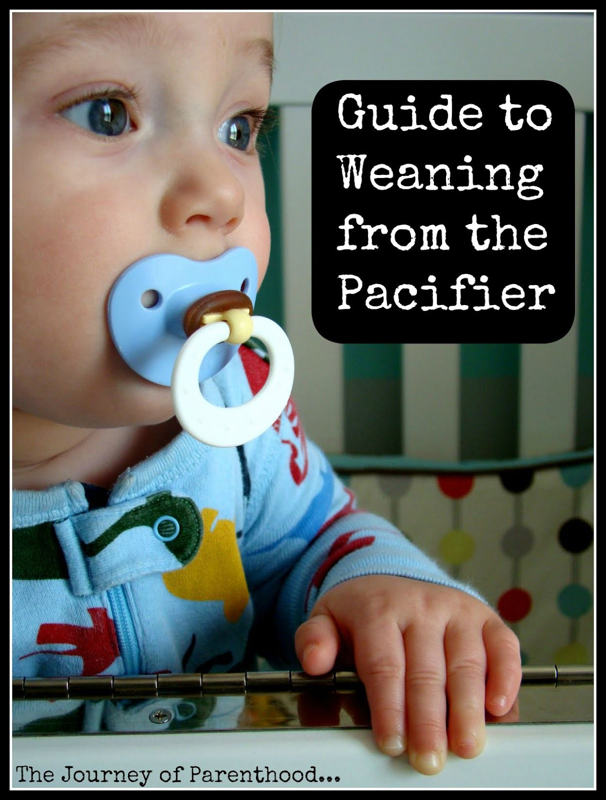 guide to weaning from pacifier