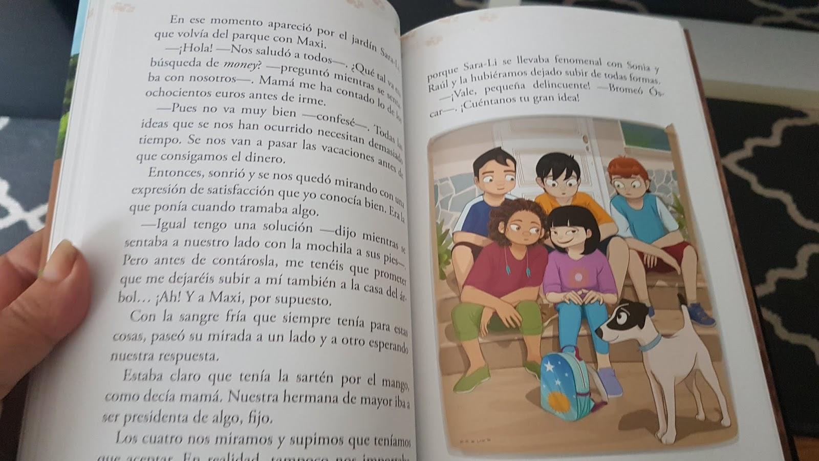 Las ilustraciones de Patricia, tal y como os comenté en la reseña del libro  anterior, son una maravilla. Muy bonitas y expresivas, alegres, ...