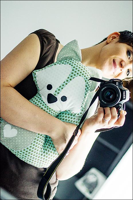 Sewing, Nähen, Fox, Fuchs, Pattern - Selfie mit Fuchs
