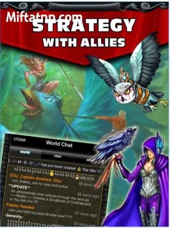 Game Perang Kerajaan Android Kingdoms at War APK