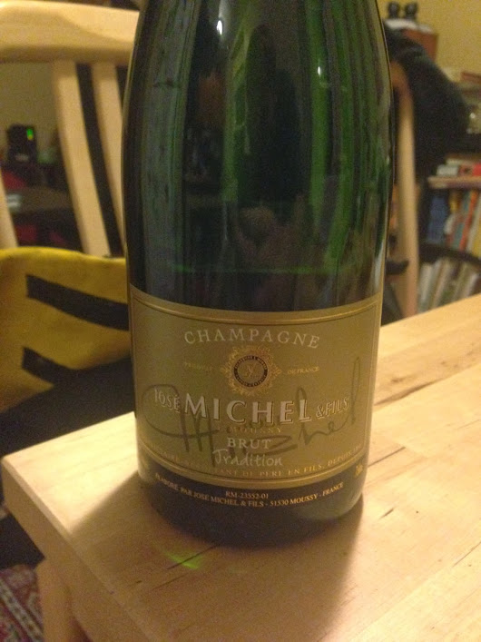 Haphazard Wine Pairings #2: Champagne Edition