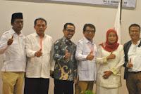 Tiga Balon Wali dan Dua Balon Wawali Kobi Adu Visi Misi di Gerindra NTB, Aji Man Absen