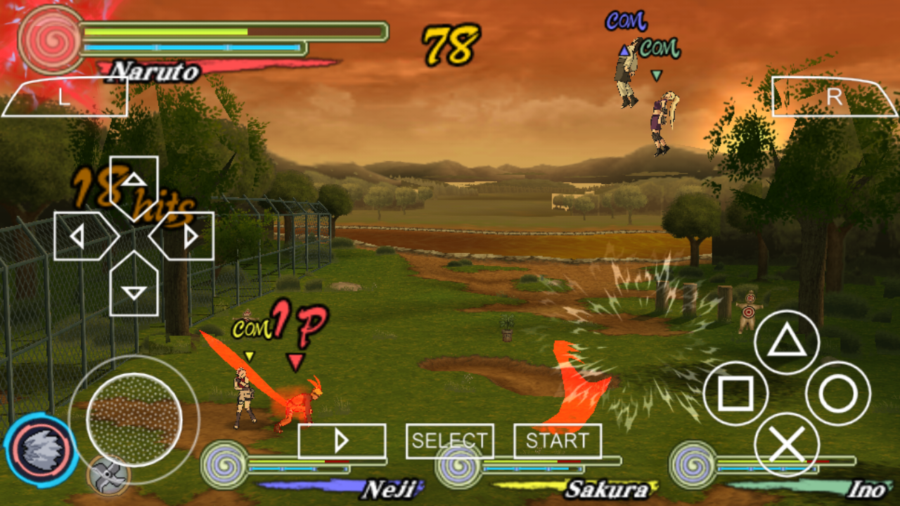 Naruto Ultimate Ninja Heroes 3 PSP ISO Free Download ...