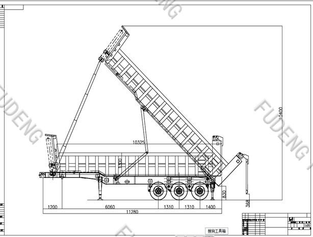 Shandong Fudeng Automobile Co.,Ltd: factory 3 axle 40ton ...