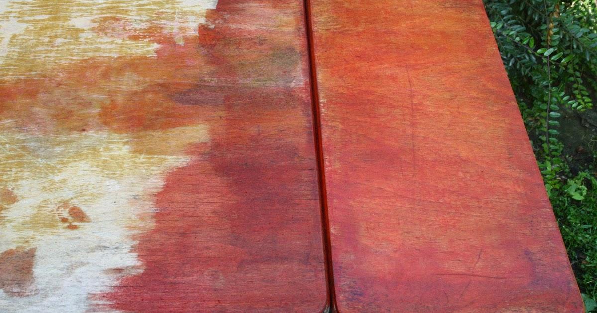 les id es de samia blog cologique d caper un meuble en bois avec un gel fait maison. Black Bedroom Furniture Sets. Home Design Ideas