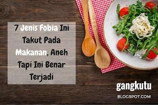 fobia makanan