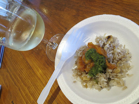 Coyote's Run Estate Winery with Jamaican Jerk Glaze Chicken