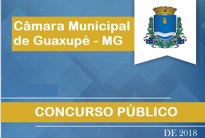 edial Câmara de Guaxupé - MG (Apostilas)