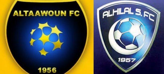 موعد مباراة الهلال والتعاون ضمن الدوري السعودي والقنوات الناقلة