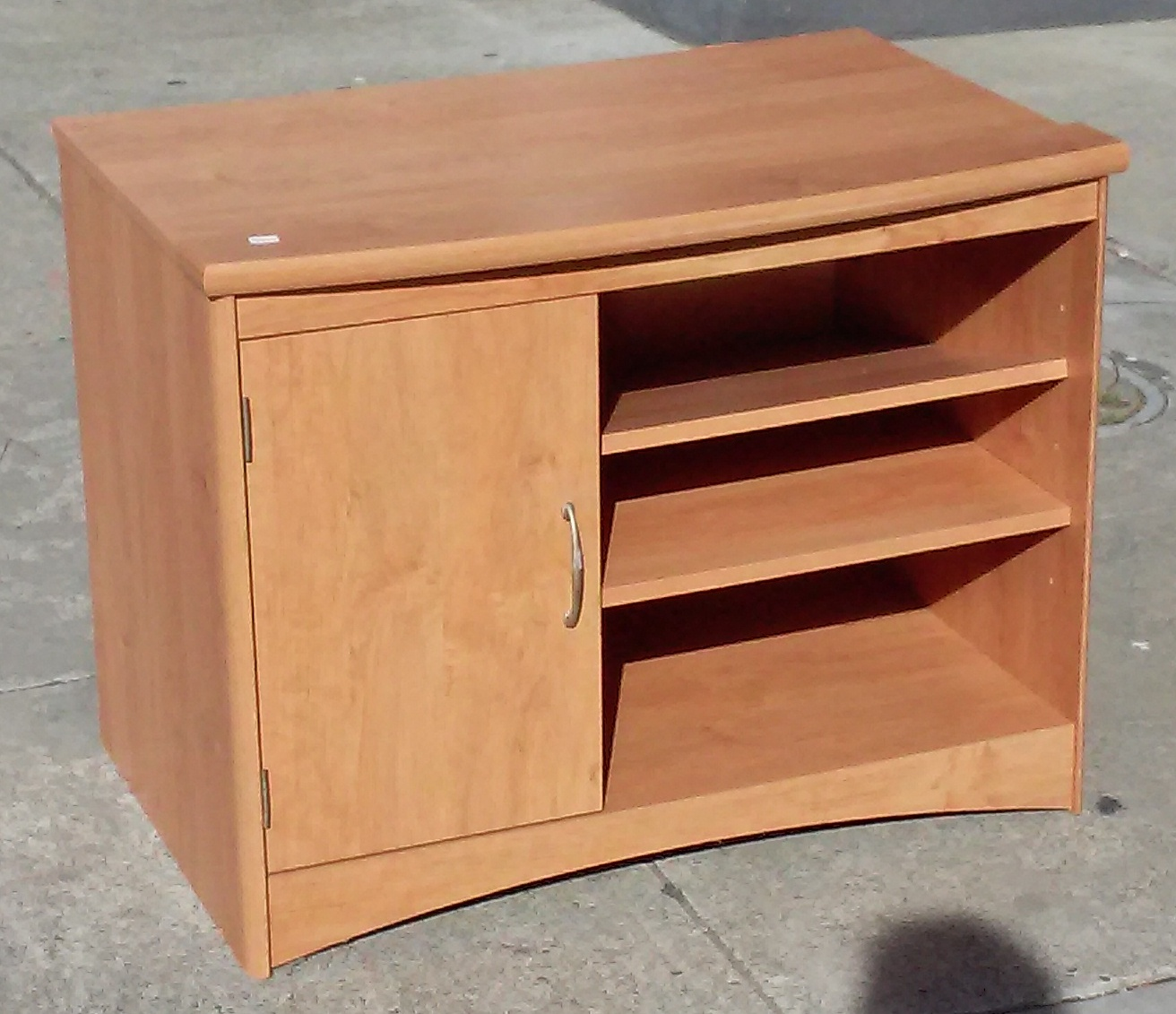 uhuru furniture collectibles sold 11551 cherry effect 36 x 24 tall tv stand 25. Black Bedroom Furniture Sets. Home Design Ideas