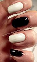 białe paznokci