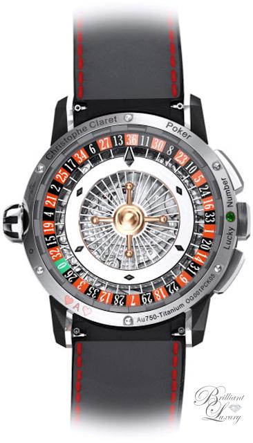 Brilliant Luxury ♦ Christophe Claret Poker Watch Men
