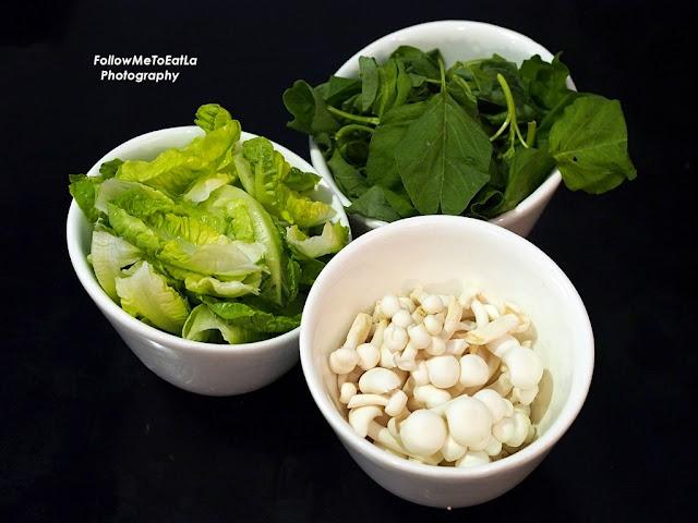 Lettuce & Bayam (RM5.90 Each) & Shimeji Mushroom (RM 6.90)