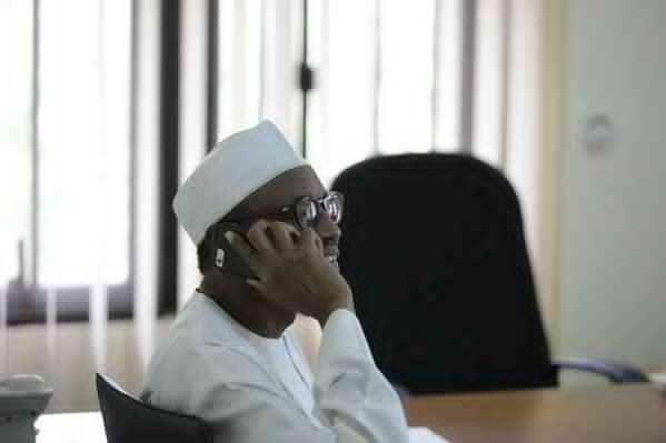 Buhari telephone call to Emir of Kastina