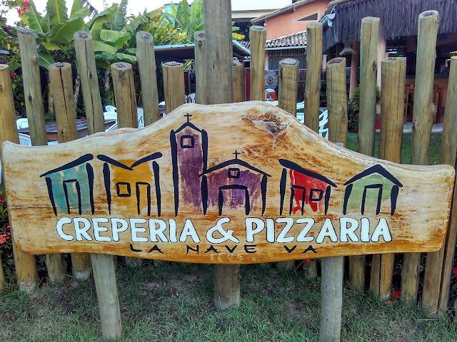 Cumuruxatiba, Creperia & Pizzaria La Nave Va