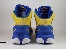 Sepatu Basket Under Armour Curry 2 Yellow Blue, toko sepatu basket, jual sepatu basket , basket under armour , under armour murah,  curry 2
