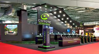 voiture communicante coyote embarque bord des toyota. Black Bedroom Furniture Sets. Home Design Ideas