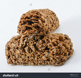 chocolate rice cake